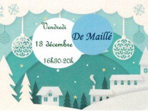 Fête de Noël à De Maillé